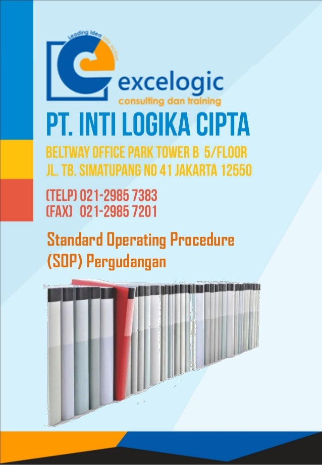 Standard Operating Procedure (SOP) Pergudangan