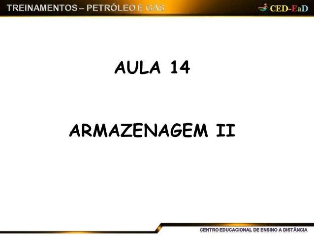AULA 14 ARMAZENAGEM II