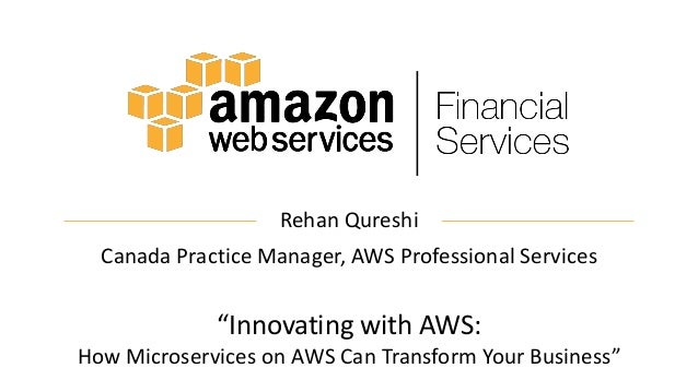 Innovating With AWS: How Microservices On AWS Can