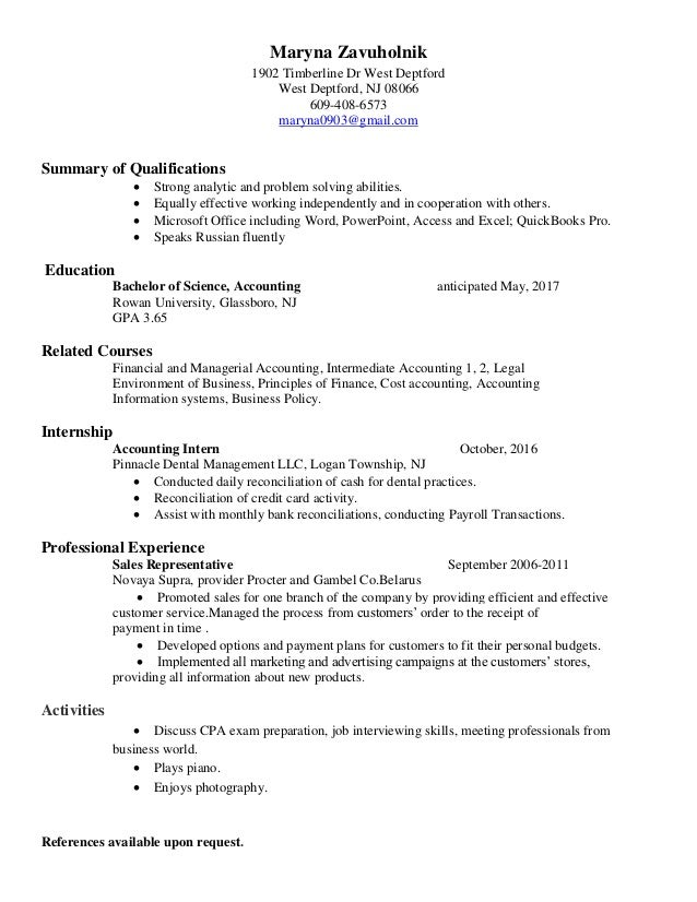 Amazing Nj Accounting Resume Ornament - Administrative Officer Cover ...