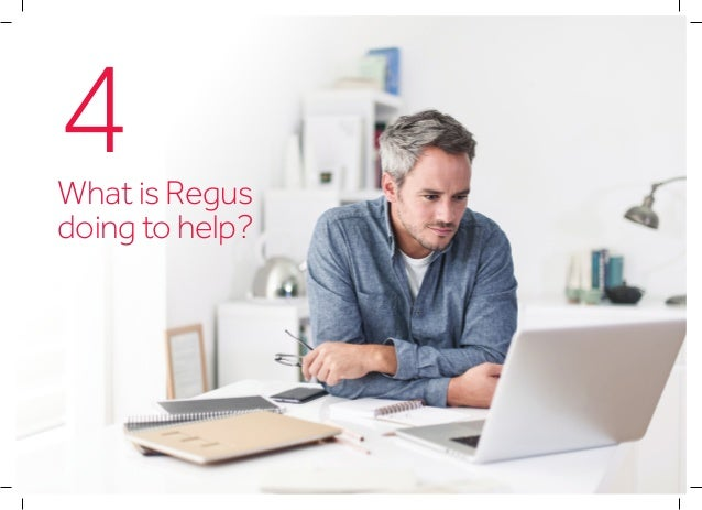 What is Regus doing to help? Building a global network A network of workspaces • National networks of places to work in e...