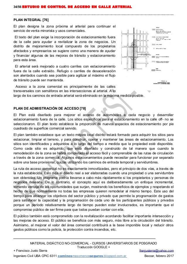 08 Bts 1980 Estudio Control Acceso Callearterial