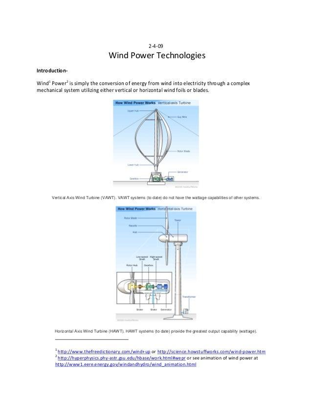 Wind Power Report 5 0 Ussery