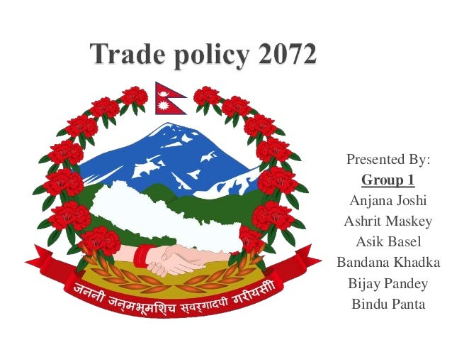 Presented By: Group 1 Anjana Joshi Ashrit Maskey Asik Basel Bandana Khadka Bijay Pandey Bindu Panta