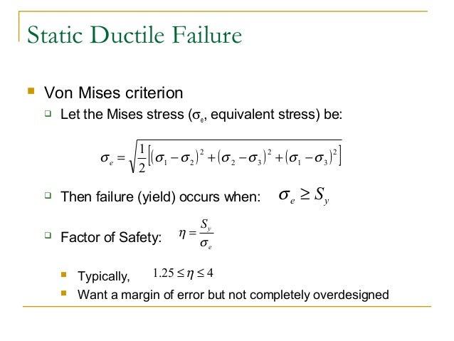 von mises yield criterion pdf