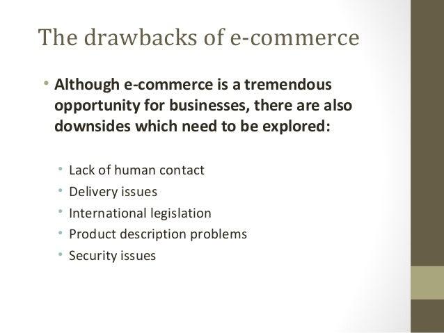 08 Drawbacks Of E Commerce