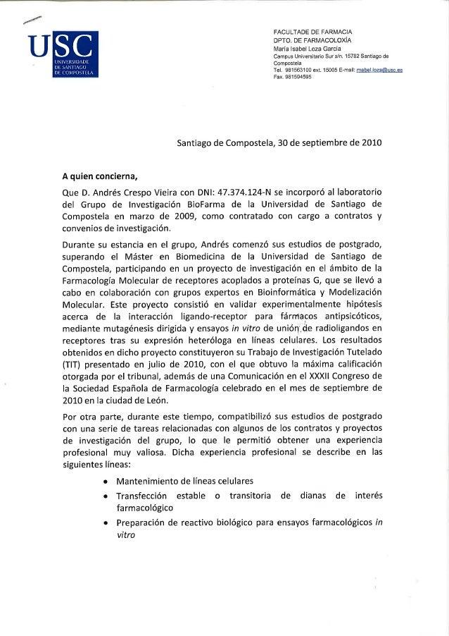 Sample Letter of Recommendation for Pharmacy School