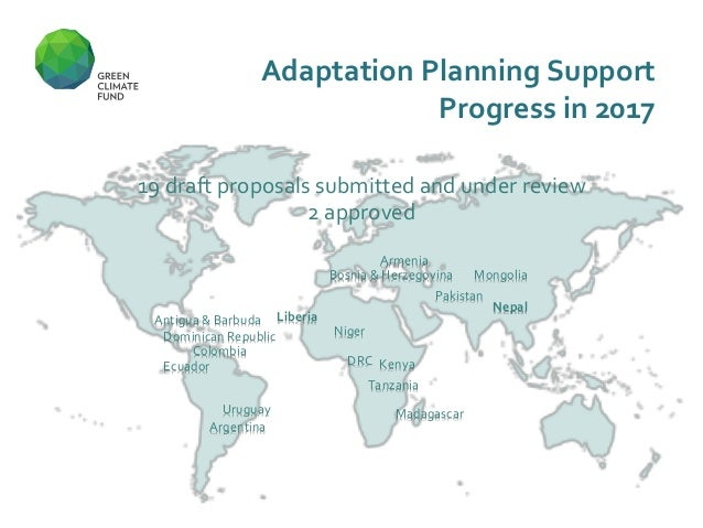 adaptation planning support