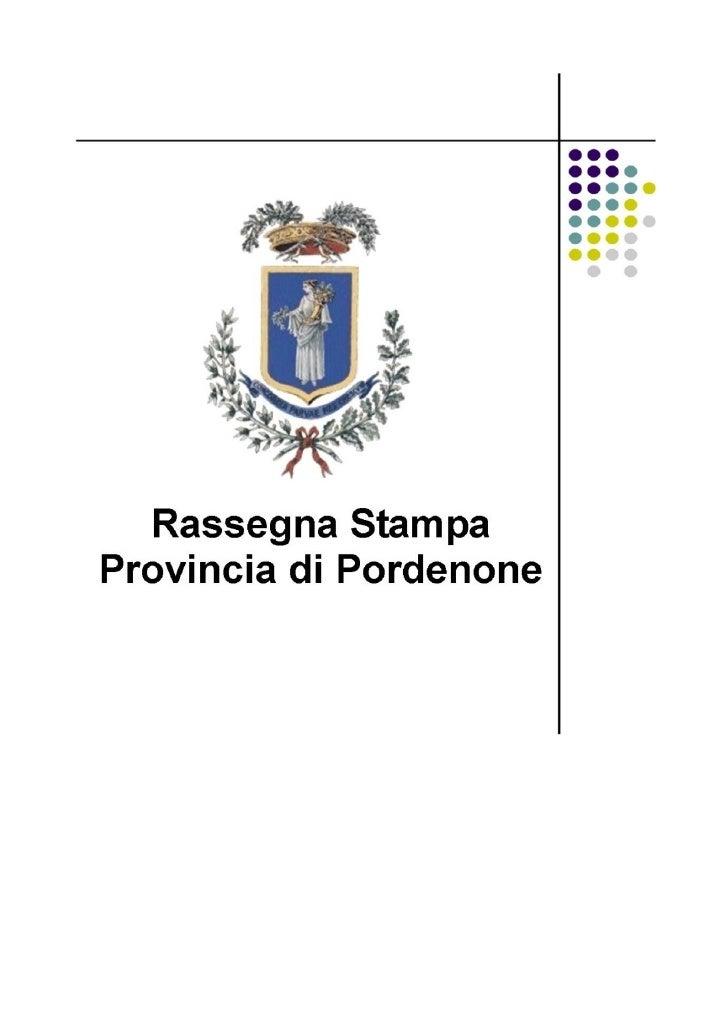 I                                                                            Rassegna stampa 08/02/2010                   ...