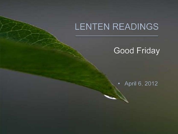The Common English Bible - Good Friday