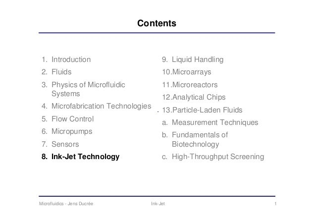 Contents 1. Introduction                                                                   9. Liquid Handling 2. Fluids   ...
