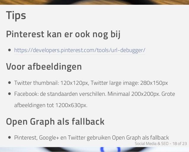 Tips Pinterestkanerooknogbij https://developers.pinterest.com/tools/url-debugger/ Voorafbeeldingen Twitterthumbnail...