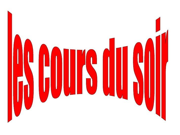 Diaporama PPS réalisé pour http://www.diaporamas-a-la-con.com les cours du soir