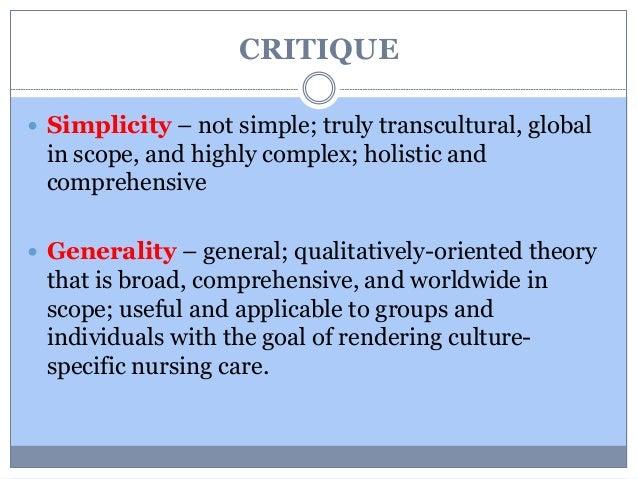 chinn and kramer theory critique