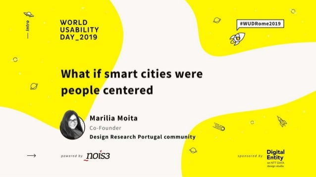 Hello! I'm Marília Moita Usability UX CX Service Design Co-Founder of Design Research Portugal 👋