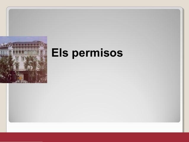 Els permisos