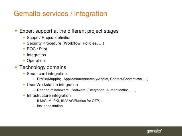 SmartCard Forum 2008 - Gemalto