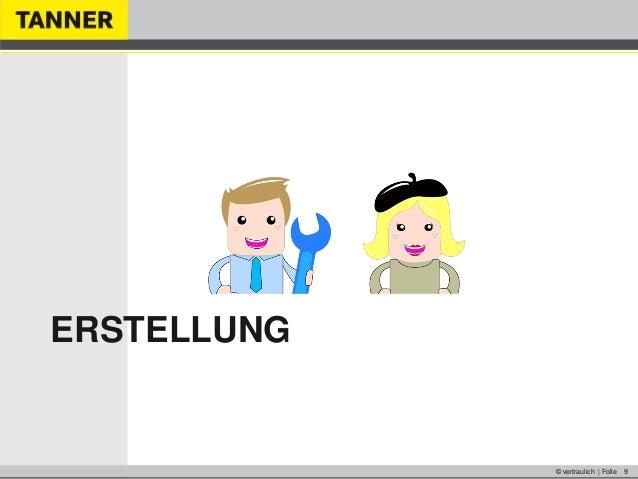 © vertraulich | Folie 9ERSTELLUNG