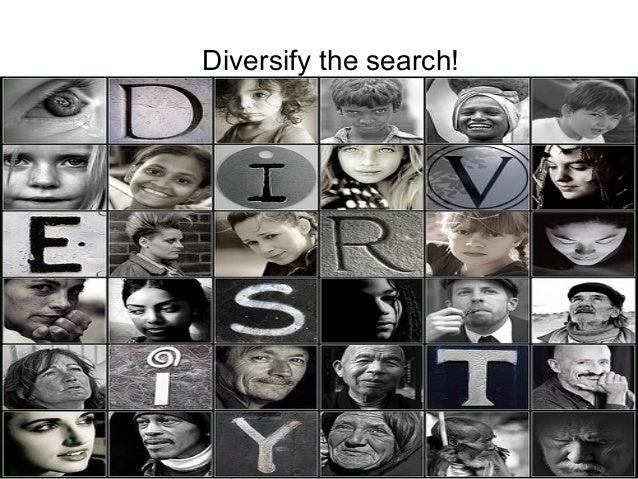 P r oj Diversify the search!