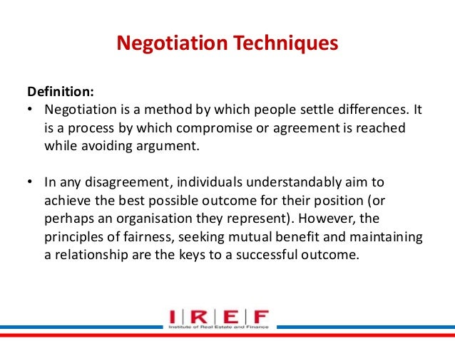08 selling skills & negotiation techniques