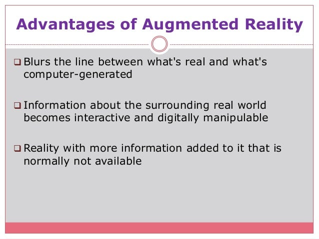 The Pros & Cons of Augmented & Virtual Reality