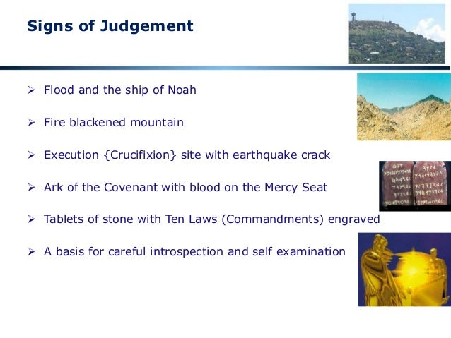 08 Signs Of Judgment Relative To The Global Flood