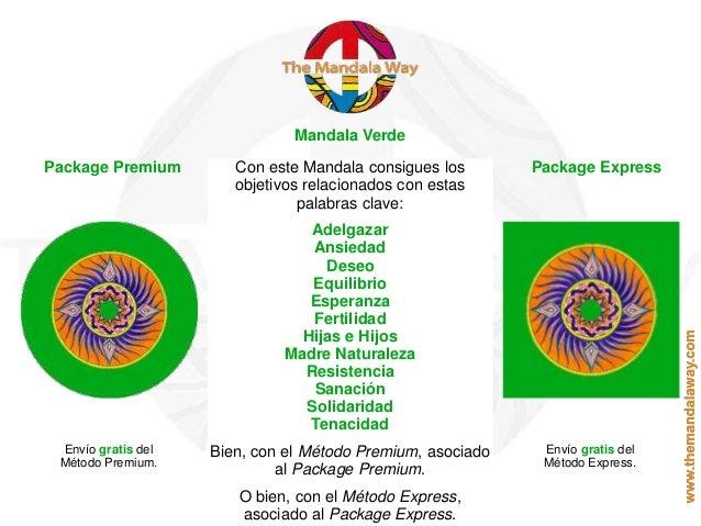 Mandala Verde Package Premium Package ExpressCon este Mandala consigues los objetivos relacionados con estas palabras clav...