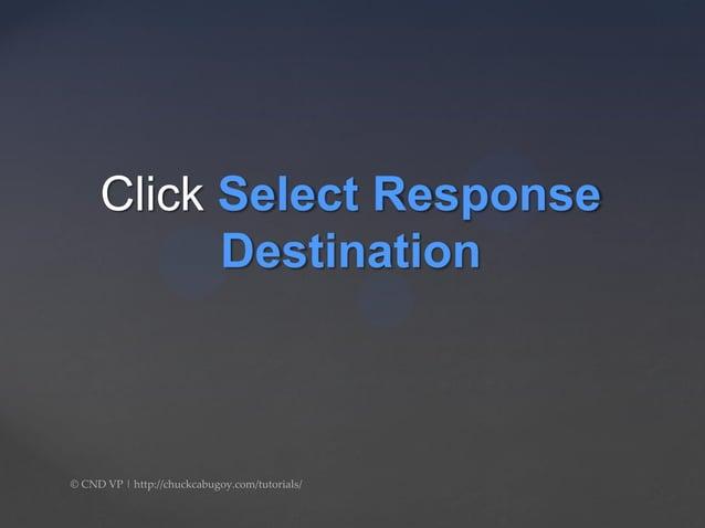 Click Responses