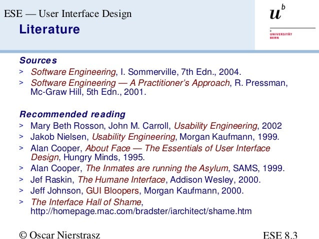 Interface Design Interface Design In Software Engineering Ppt
