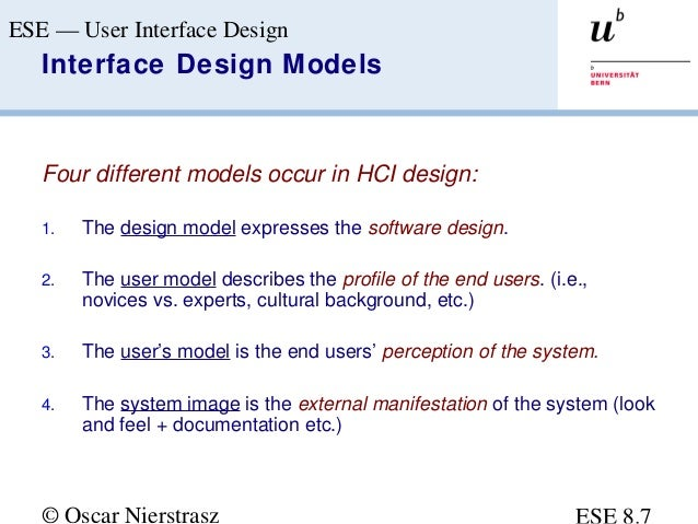 User Interface Design Ppt