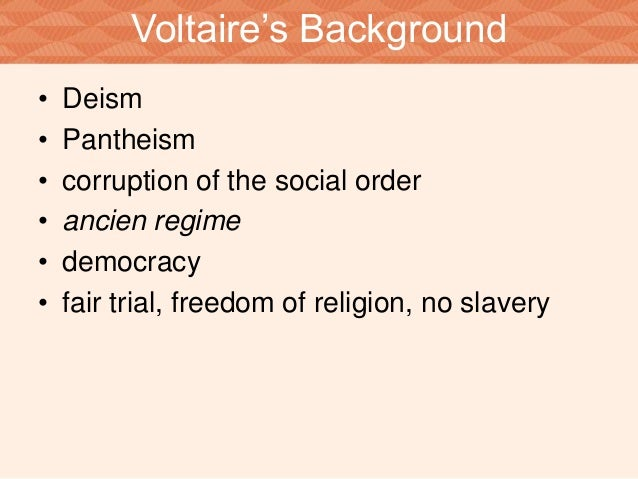 "a mad and evil world in candide by voltaire Study notes/guide for candide by voltaire although voltaire never uses the word ""evil,"" how how did many europeans of voltaire's day view the new world."