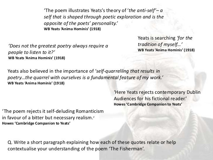 the fisherman poem yeats