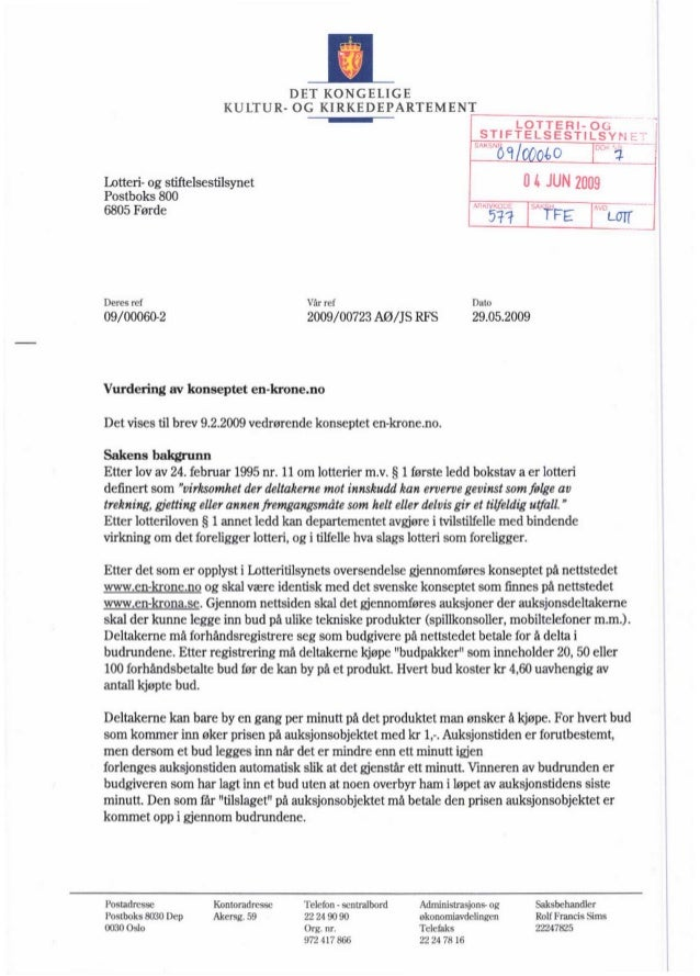 KKD avslag Bidit.eu klage