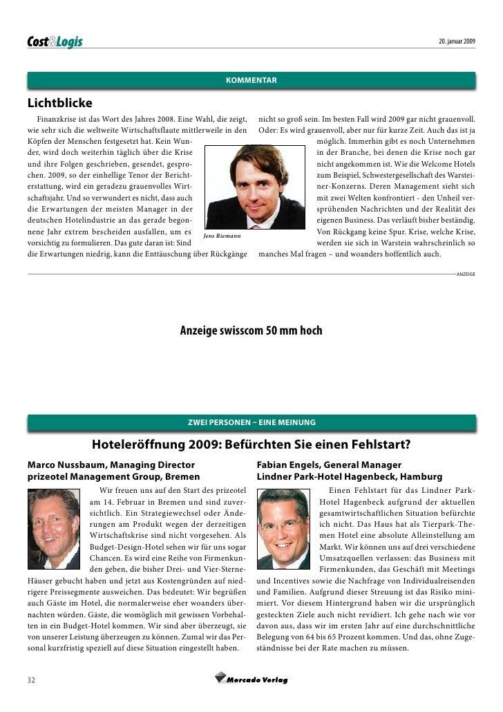 20. januar 2009                                                                kommentar  Lichtblicke    Finanzkrise ist d...