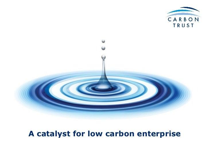 A catalyst for low carbon enterprise