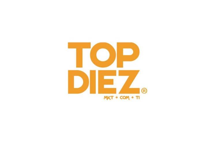 Top Diez Slide 1