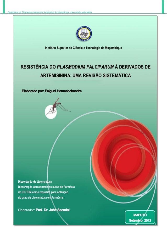 Thesis on malaria