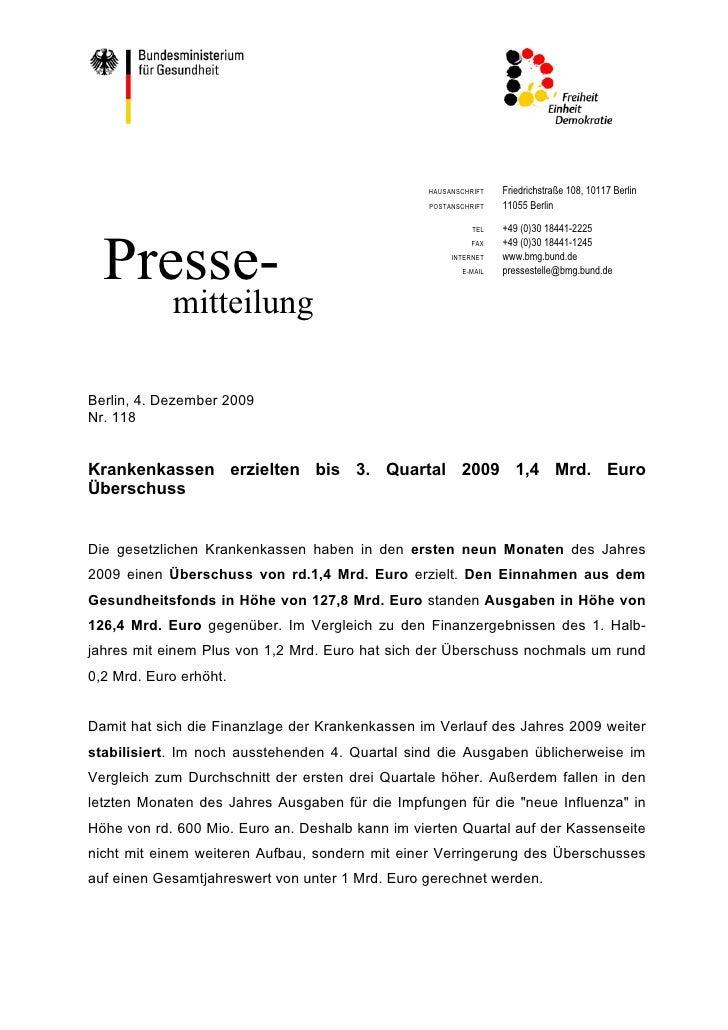HAUSANSCHRIFT   Friedrichstraße 108, 10117 Berlin                                                  POSTANSCHRIFT   11055 B...