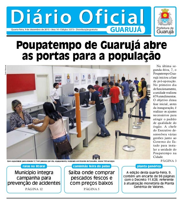 Município integra campanha para prevenção de acidentes PÁGINA 12 raios no litoral A edição desta quarta-feira, 9, contém u...