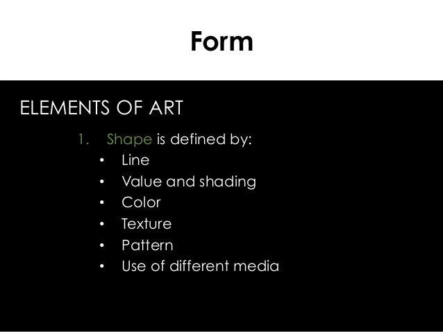 Shape Element Of Art Definition : Form formalism elements of art