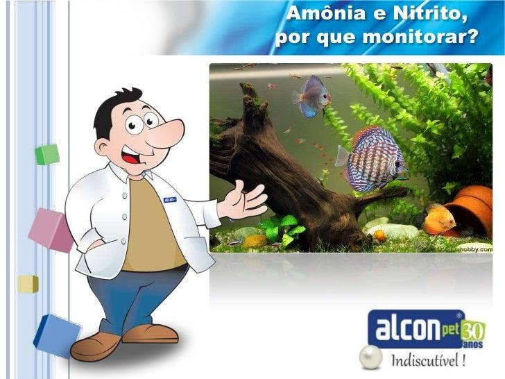 Amônia e Nitrito,por que monitorar?