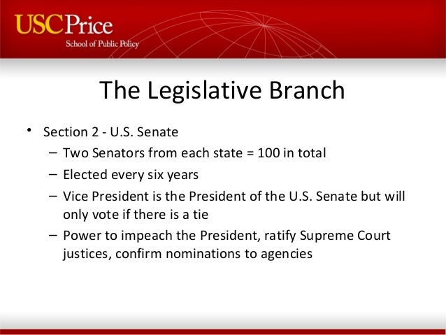 the composition and functions of the united states congress Senate: senate, one of the two houses of the legislature (congress) of the united states, established in 1789 under the constitution each state elects two.