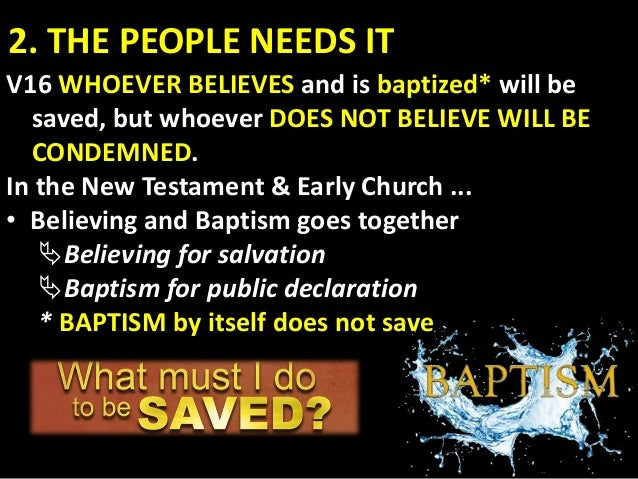 """2. THE WORLD NEEDS IT Acts 4:12 """"Salvation is found in no one else, for there is no other name under heaven given to men b..."""
