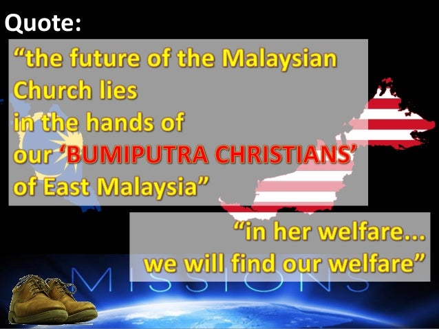 the malaysian church