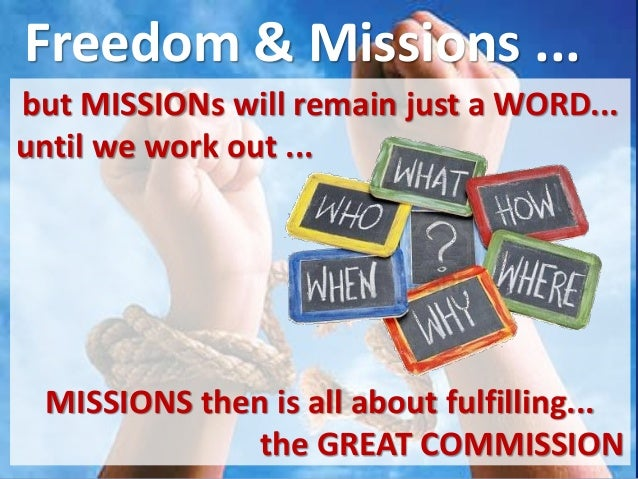 10 Questions Great Commission & Missions