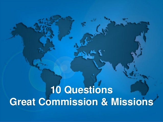 """1. What does """"nations"""" mean in Matt 28:19 """"Go therefore and make disciples of all nations""""? a) country b) ethnic people gr..."""
