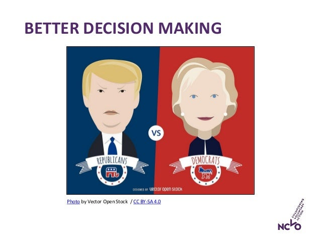BETTER DECISION MAKING Photo by Vector Open Stock / CC BY-SA 4.0