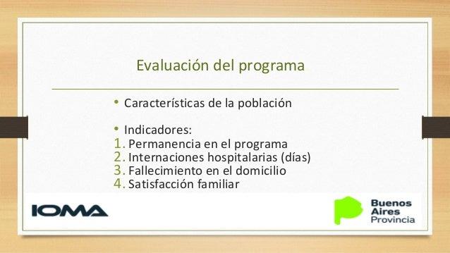 Características de la población • N:1914 pacientes (48 meses de programa) • SEXO: 60% femenino 40% masculino • DIAGNOSTICO...