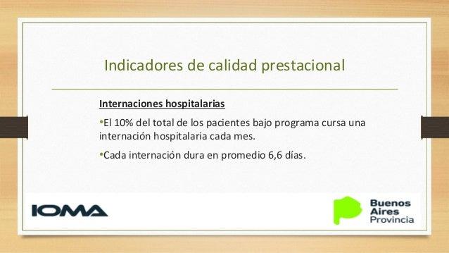 Indicadores de calidad prestacional Lugar de fallecimiento 65% En el domicilio 35% En el hospital Cada mes fallece el 14 %...