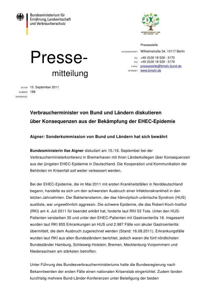 Pressestelle             Presse-                                                                     HAUSANSCHRIFT   Wilhe...